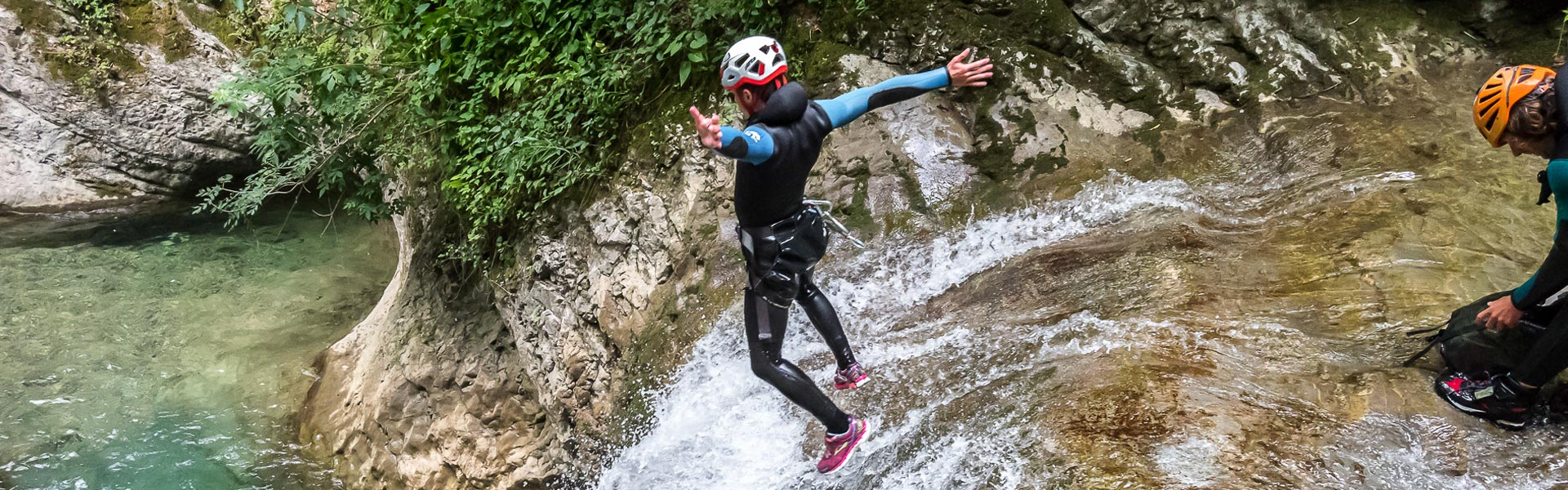 Vertic'O, canyoning Isere