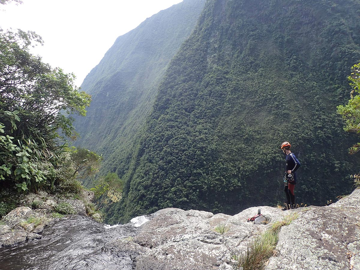 canyoning en grande course
