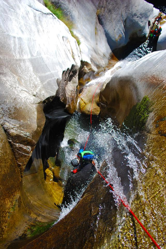 canyoning Vertico