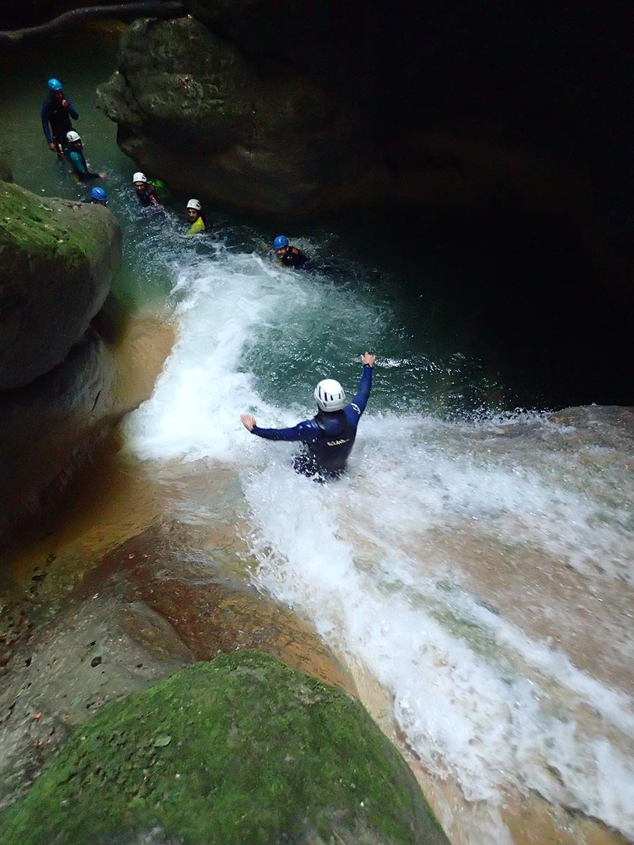 canyon de l'Infernet, canyoning à Grenoble