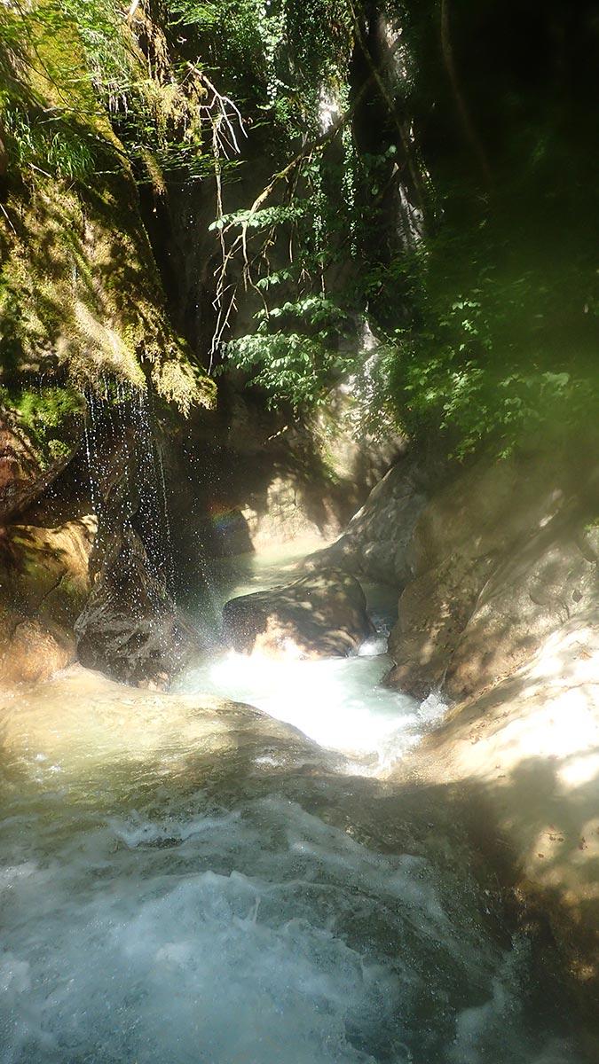 canyon à Grenoble : entrée du canyoning de l'Infernet