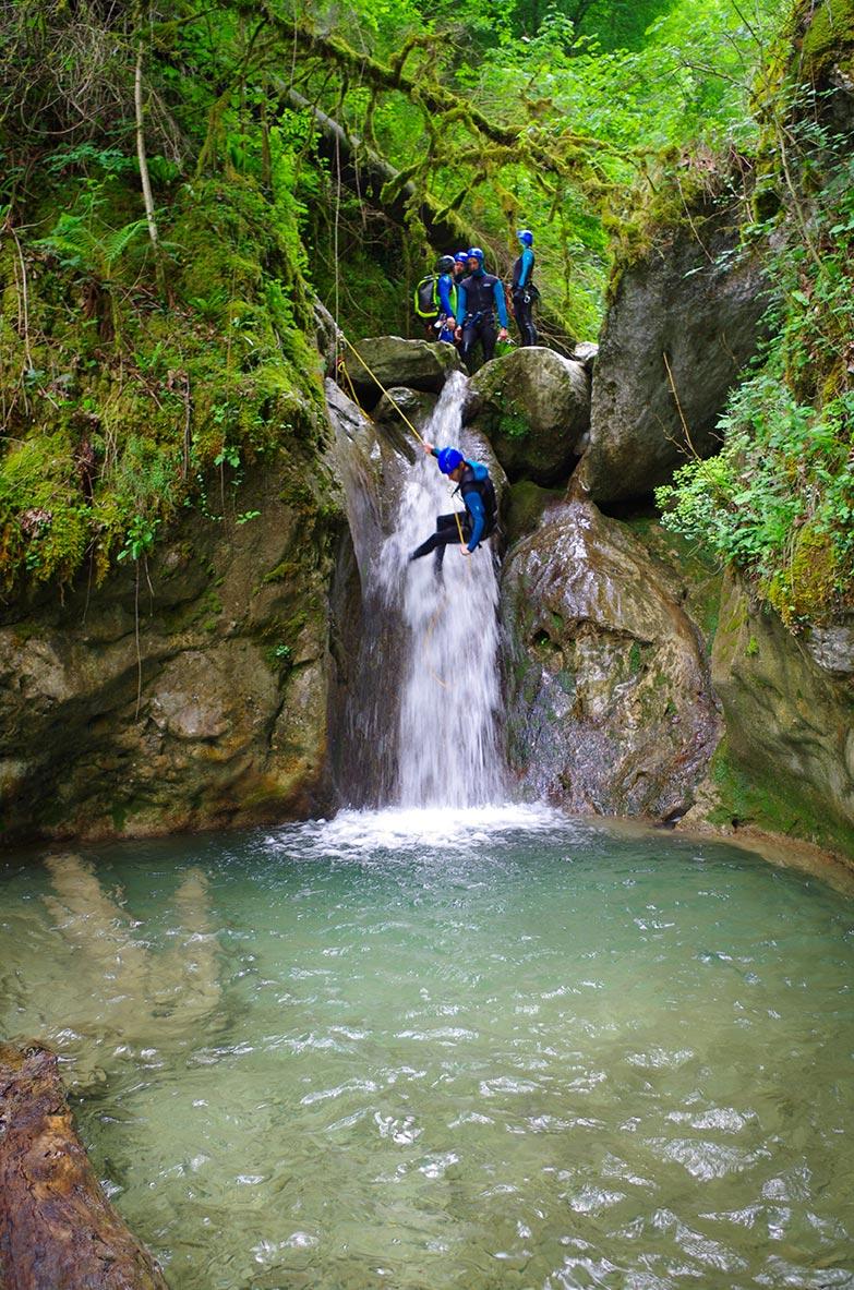 Le Versoud, canyoning de Grenoble et Lyon