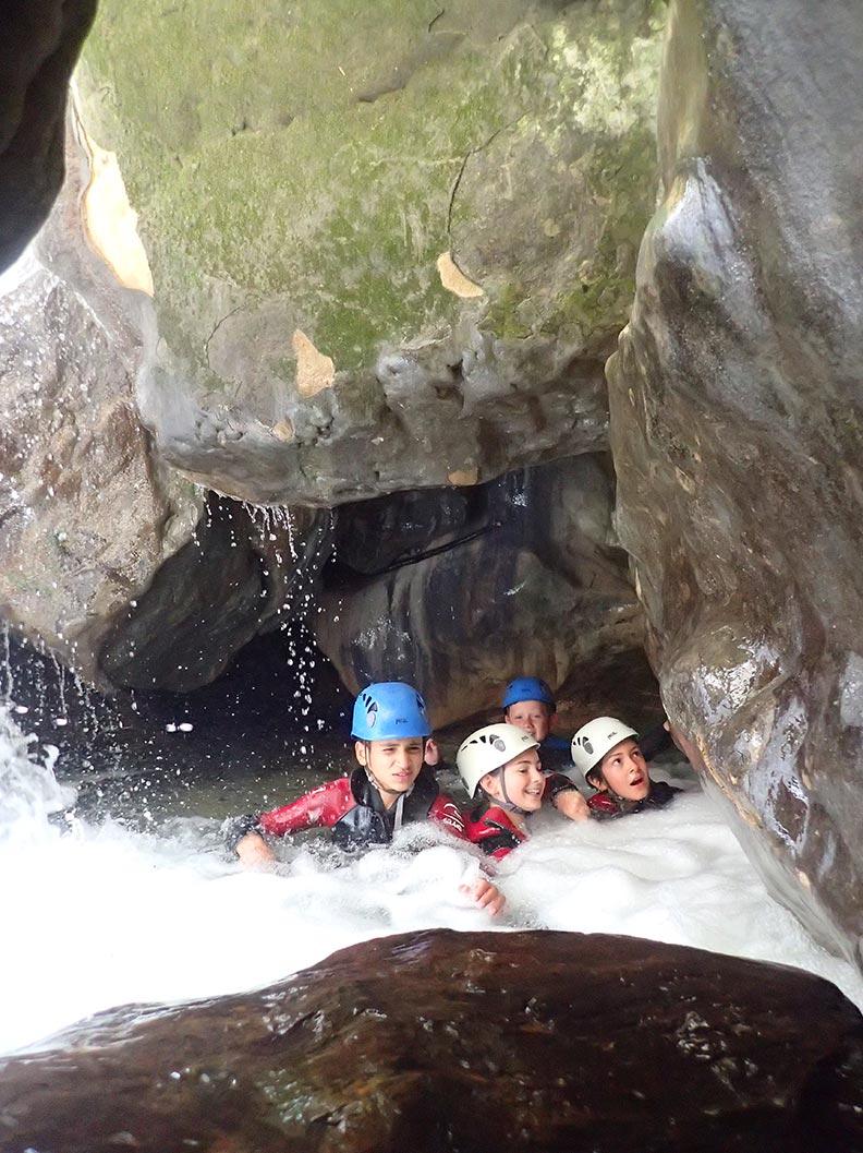 le canyon en famille à Grenoble et Lyon