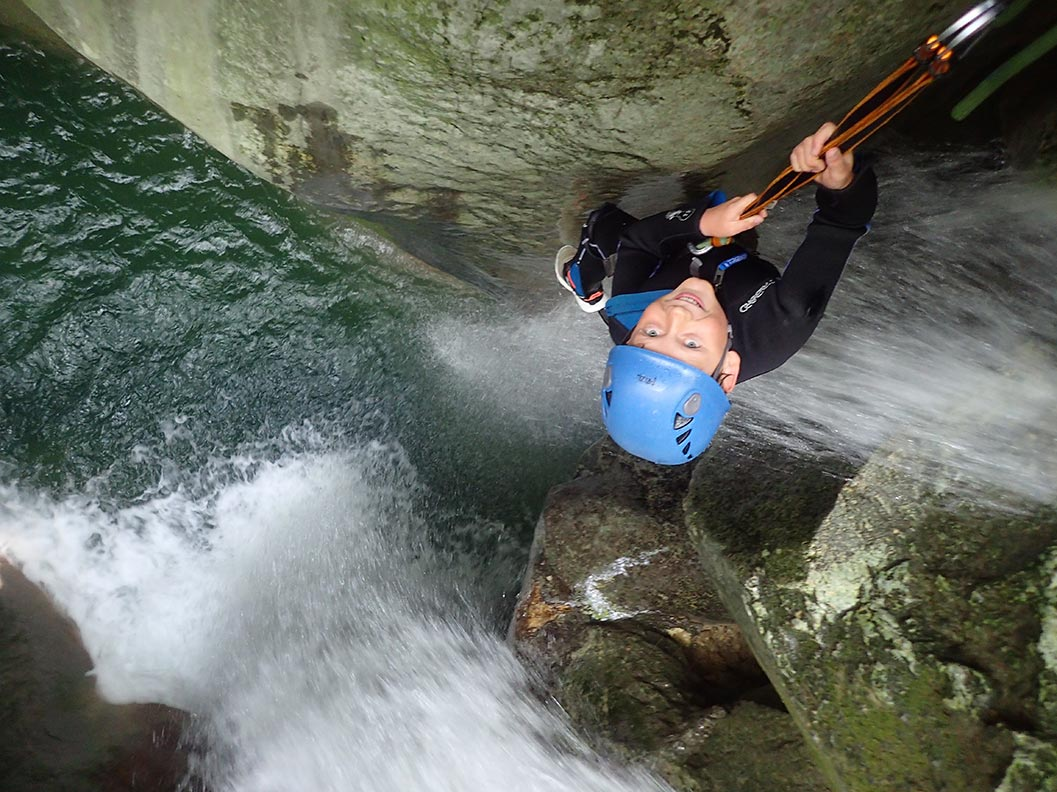 canyoning famille 7ans