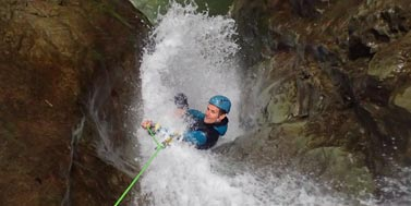 Canyoning à Grenoble : canyon des ecouges