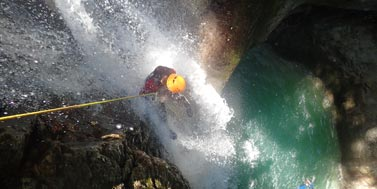 Canyoning dans le Vercors : Canyon du Versoud