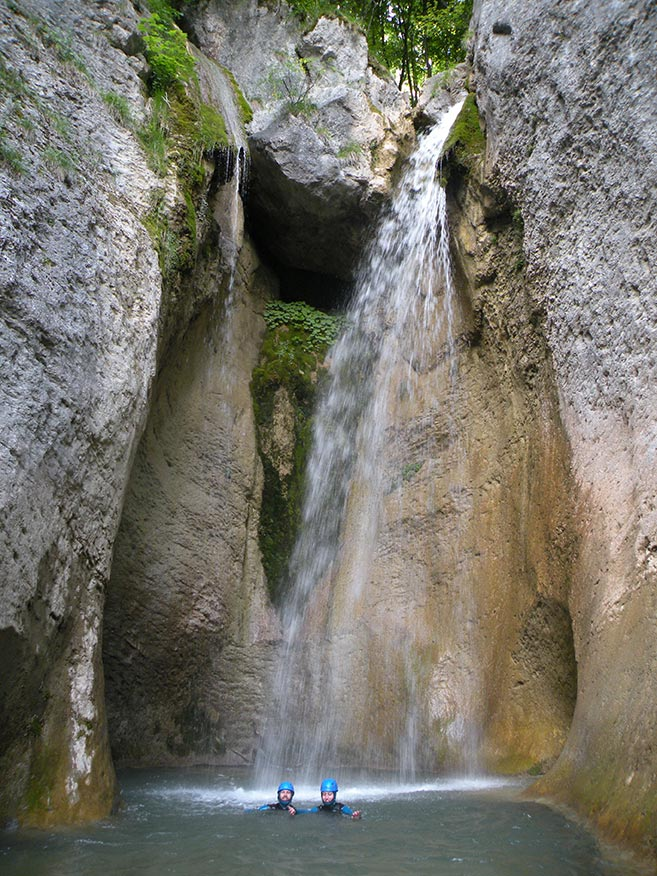 canyoning Grenoble - L'Alloix en chartreuse