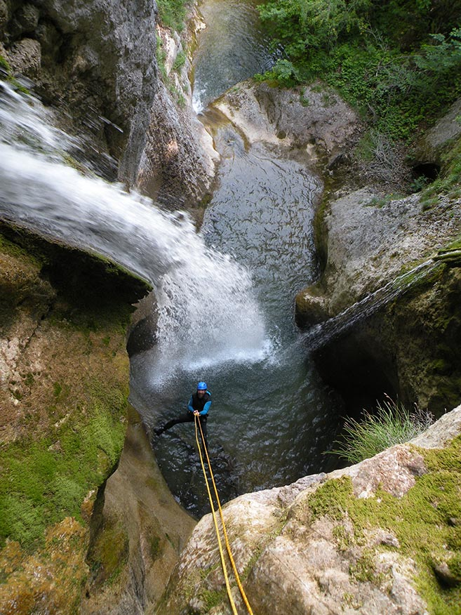 canyoning Grenoble en Chartreuse