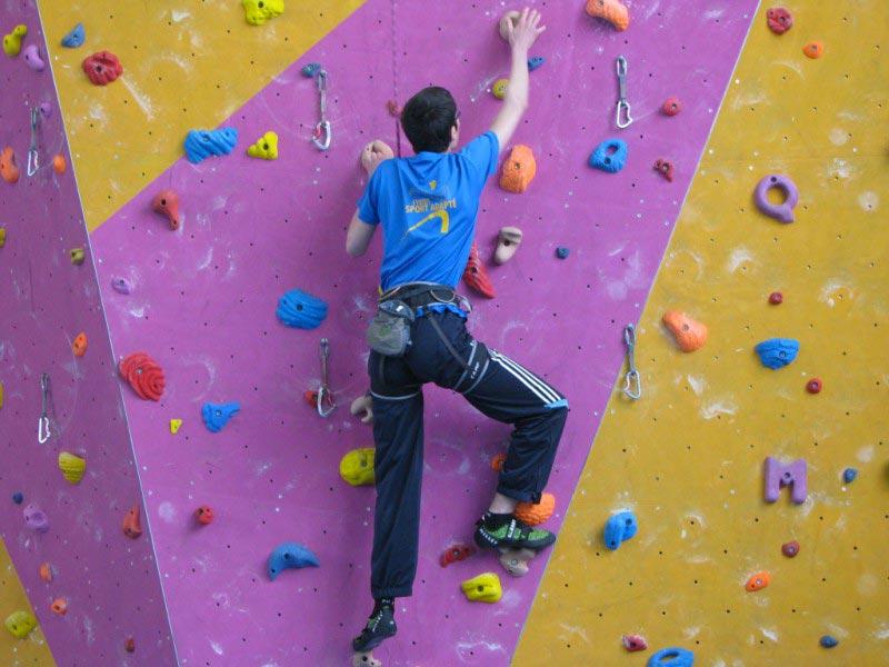 handi grimpe club à Grenoble avec vetico