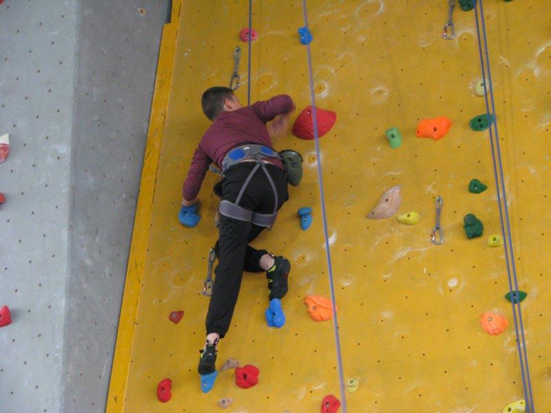 apprentissage de l'escalade avec Vertico