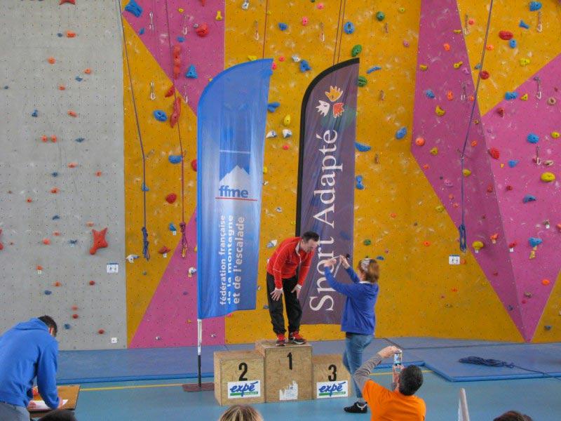 escalade compétition avec vertico