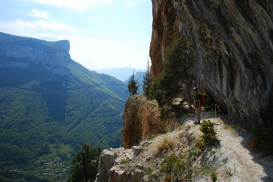 la via corda à Grenoble