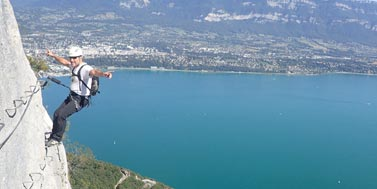 Via Ferrata sur Grenoble : col du chat roc cornillon