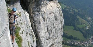 Via Ferrata vers Grenoble : Roche Veyrand