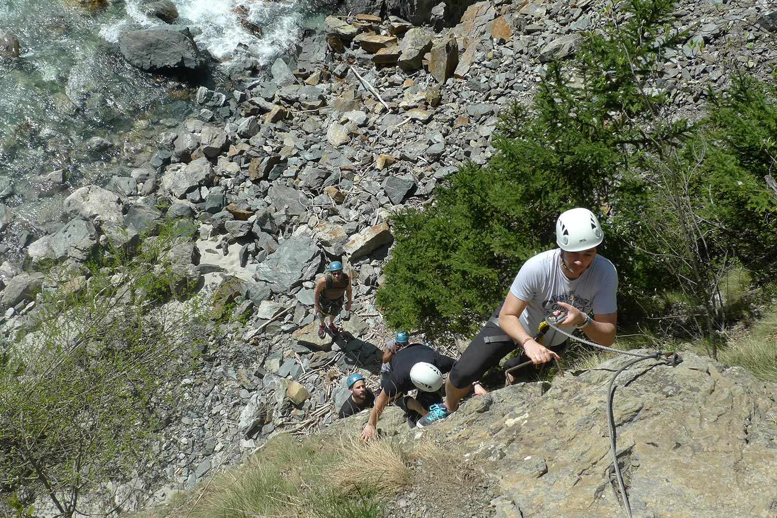 Via ferrata en Oisans