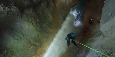 Canyoning sur Grenoble : canyon de l'infernet