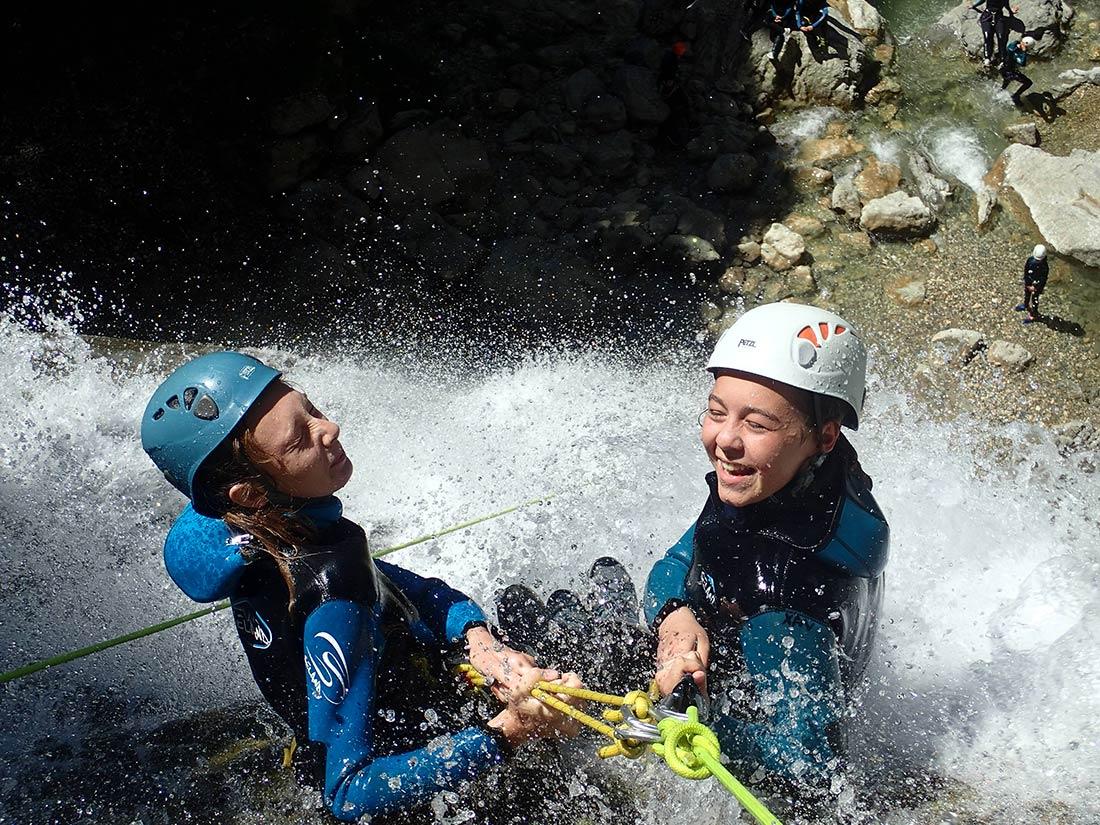 canyon des Ecouges rappel de 30m