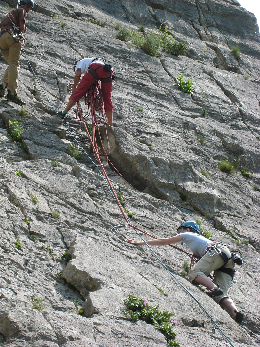 initiation escalade grenoble