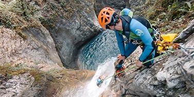 Vers l'autonomie en Canyon à Grenoble