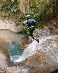 canyoning-ecouges-vercors-vertico