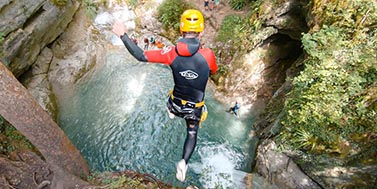 Canyoning des Ecouges Vercors