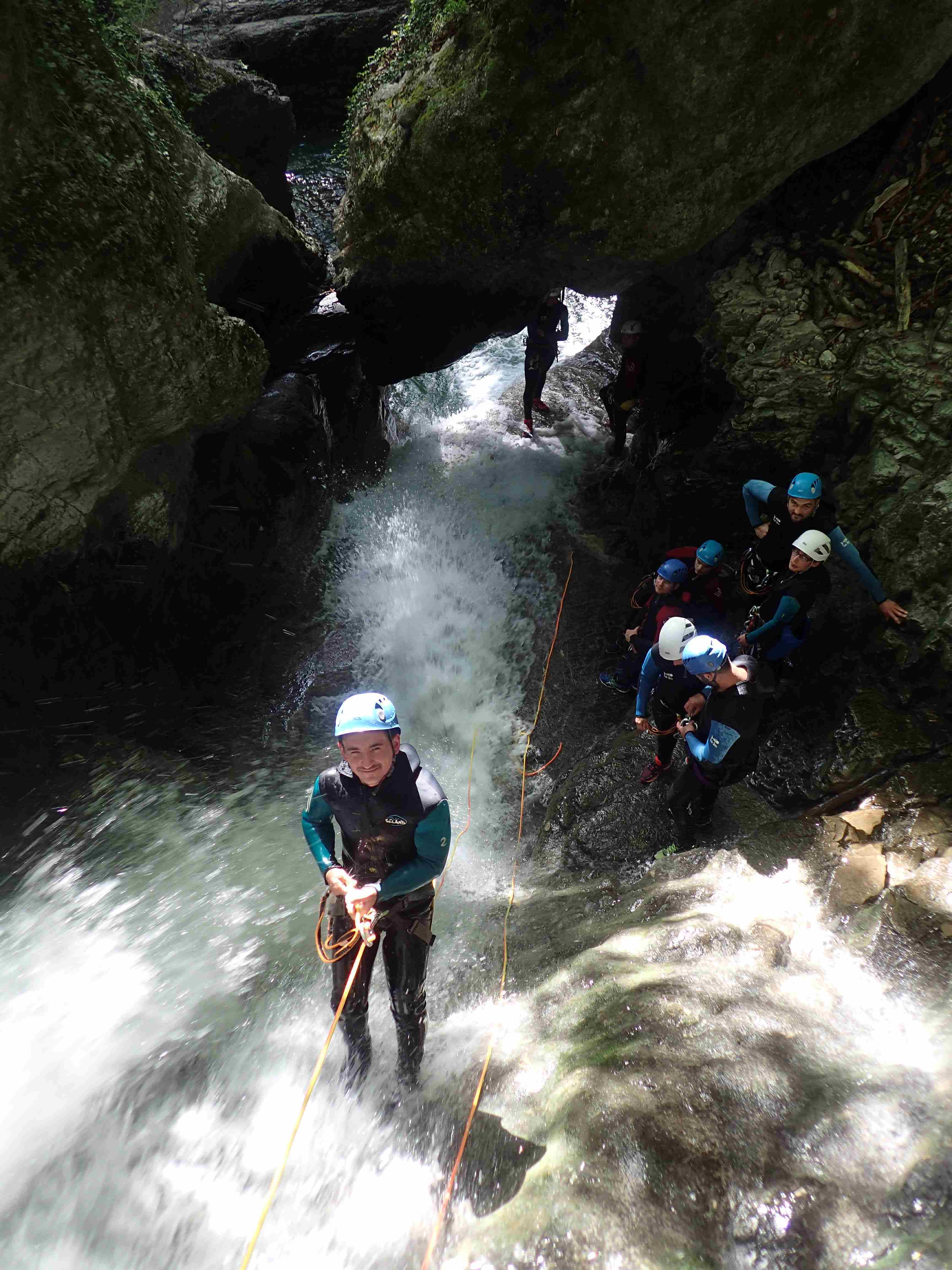 canyoning à Grenoble, Furon Vecors