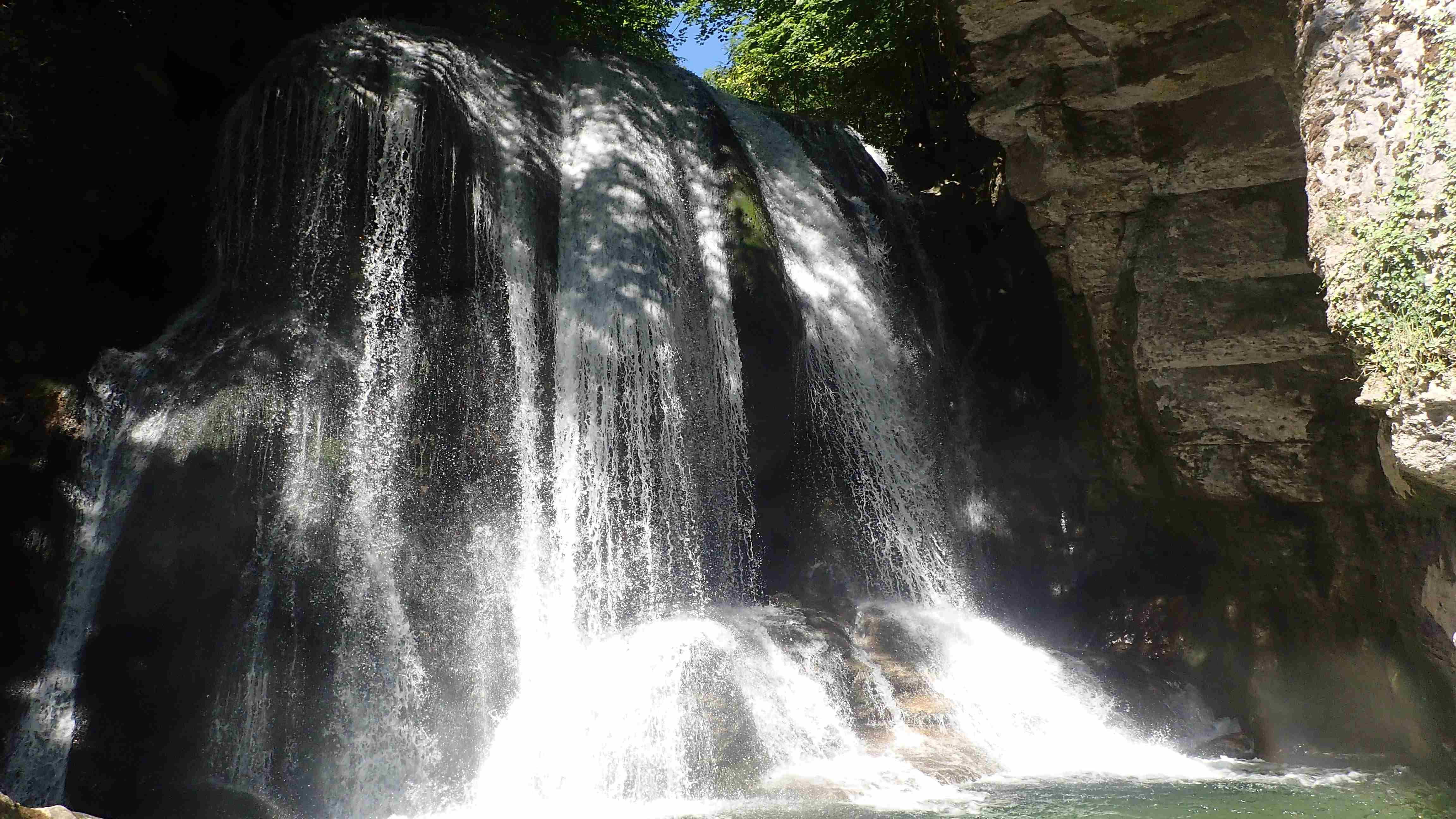 Cascade canyon du Furon bas Grenoble