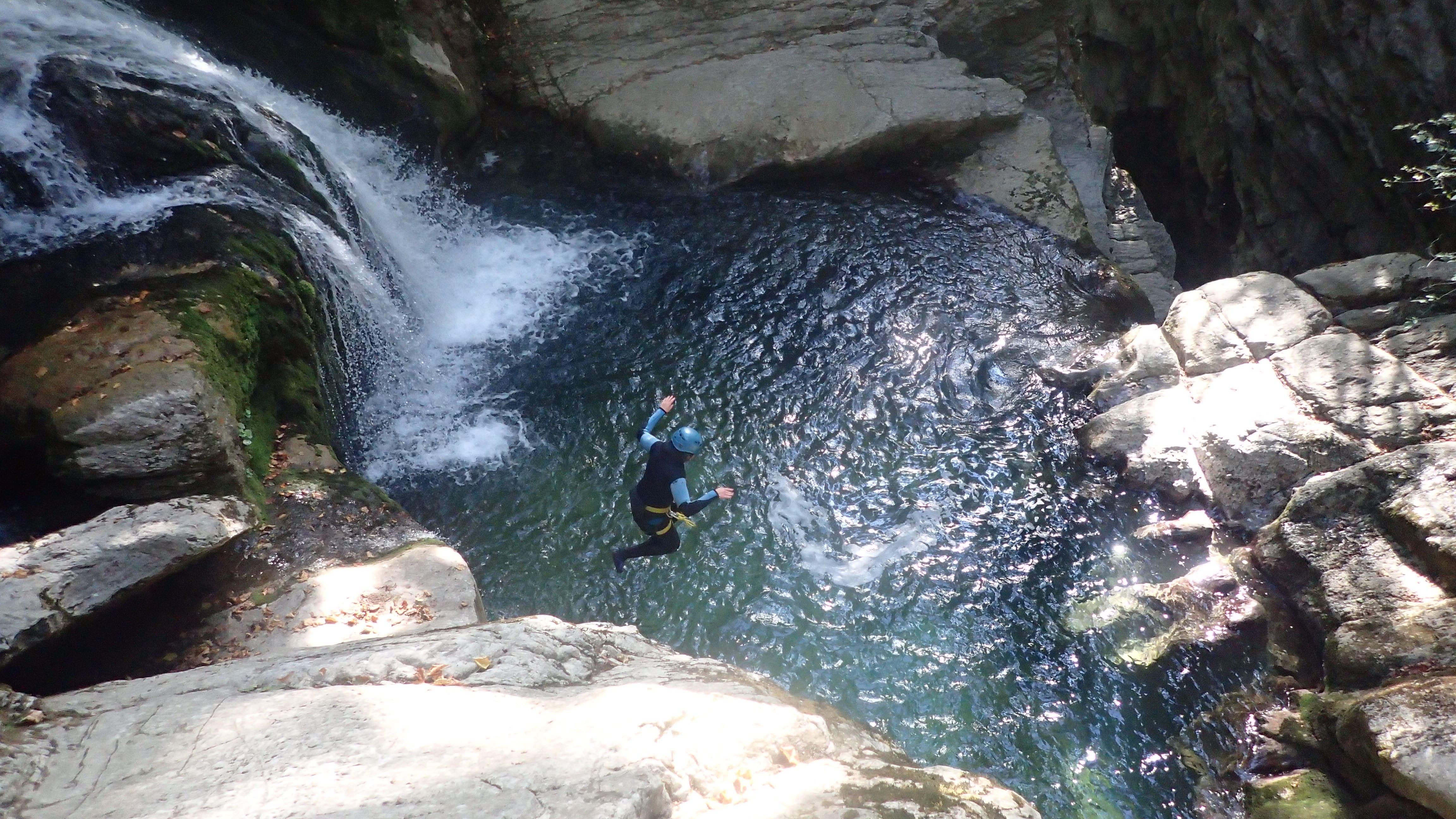 Canyon du furon bas à Grenoble