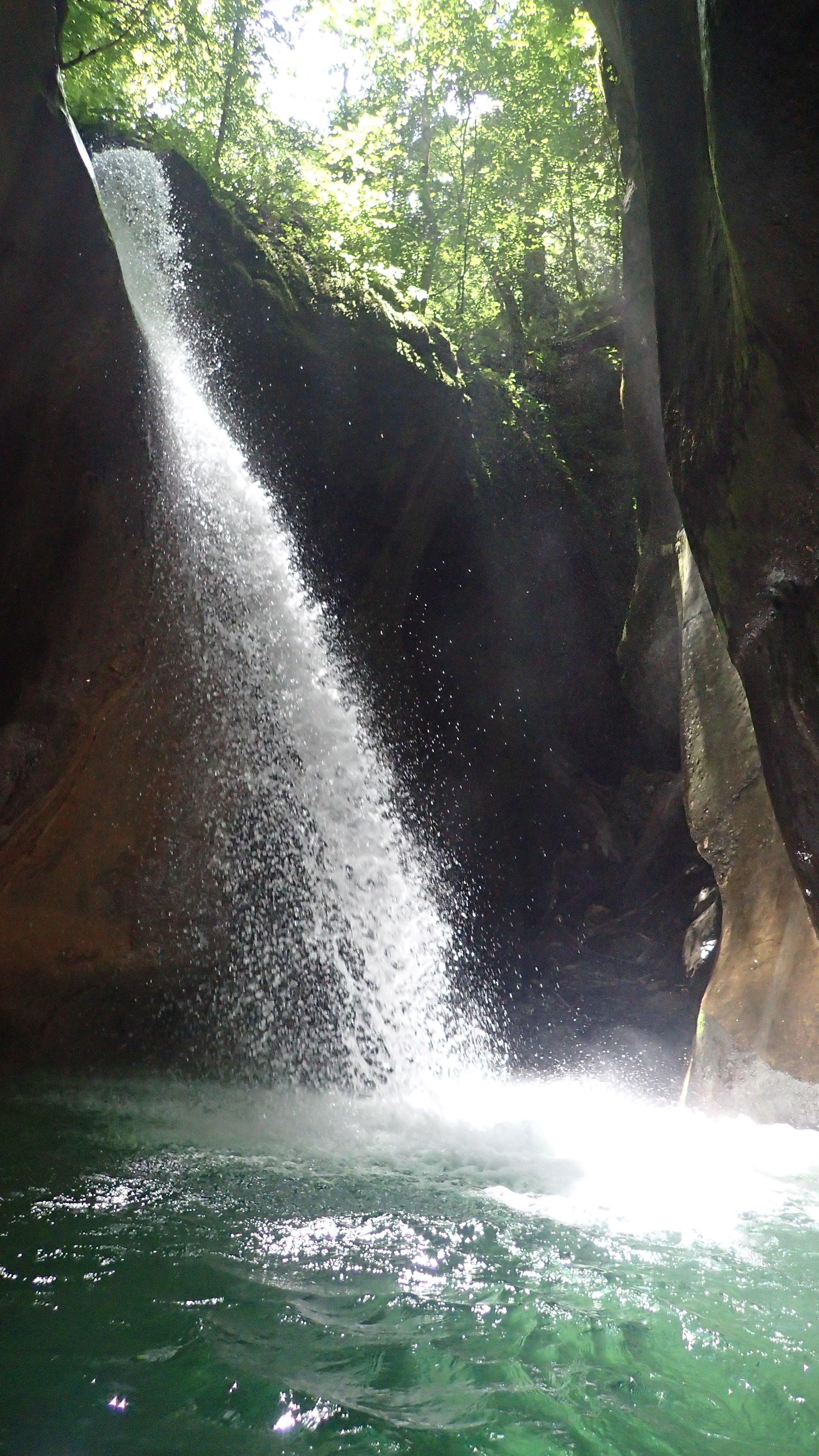 entrée du canyon du Furon dans le Vercors